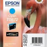 EPSON C13T08724010 CARTUCCIA HI-GLOSS2 T0872 FENICOTTERO 114 ML CIANO