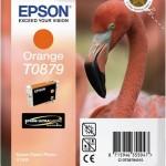 EPSON C13T08794010 CARTUCCIA HI-GLOSS2 T0879 FENICOTTERO ARANCIONE