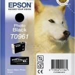 EPSON C13T09614010 CARTUCCIA SERIE T0961 HUSKY NERO FOTO
