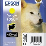EPSON C13T09644010 CARTUCCIA SERIE T0964 HUSKY GIALLO
