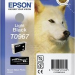 EPSON C13T09674010 CARTUCCIA SERIE T0967 HUSKY NERO LIGHT