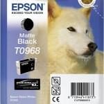 EPSON C13T09684010 CARTUCCIA SERIE T0968 HUSKY NERO MATTE