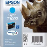 EPSON C13T10024010 CARTUCCIA ULTRA T1002 RINOCERONTE  111 ML CIANO