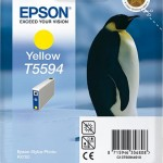 EPSON C13T55944010 CARTUCCIA SERIE T5594 PINGUINO 130 ML GIALLO