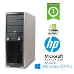 HP xw4400 Workstation Intel Core 2 Duo E6600 2.4GHz 4Gb Ram 250Gb DVD-RW NVIDIA QUADRO FX1500 Win 10 Pro