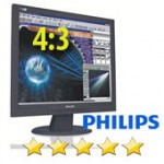 Monitor PC LCD 17' Philips 170  Black 4:3