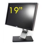 Monitor Dell 1909WF 19 Pollici Flat Panel Monitor DVI PIVOT USB TCO03 Black Silver