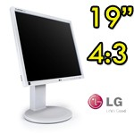 Monitor LCD LG Flatron E1910 19 Pollici VGA DVI AUDIO Gray Light 4:3