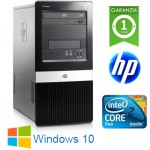 PC HP Tower DX2400 Pentium Dual Core E2200 2.2GHz 4Gb 250Gb DVDRW Windows 10 HOME