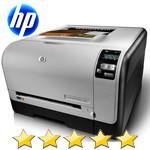 Stampante Laser a Colori A4 HP CP1525N 12ppm USB Ethernet 600dpi CE874A