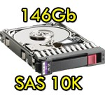 Hard Disk per Server HP SAS 2.5' 146Gb 10K Hot Swap per Proliant DL ML BL G5 G6 G7