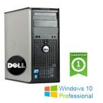 PC Dell Optiplex 780 Core 2 Duo E6700 3.2GHz 4Gb Ram 250Gb DVDRW PARALLELA Windows 10 Professional Tower