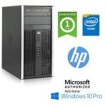 PC HP Compaq 6000 Pro Core 2 Duo E7500 2.93GHz 4Gb 250Gb DVD-RW Windows 10 Professional Tower