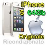 iPhone 5 64Gb Bianco 4G MD663DN/A  MMD665LL/A Originale iOS 8.3
