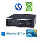 PC HP Compaq 8000 Elite Core 2 Duo E7500 2,93Ghz 4Gb Ram 250Gb DVDRW Windows 10 Professional