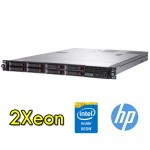 Server HP ProLiant DL360 G7 (2) Xeon Quad Core E5540 2.53GHz 32Gb Ram 292GB 2.5' SAS (2) PSU Smart Array P410i