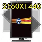 Monitor 27 Pollici HP Renew ZR2740W Pivot LED 2560X1440 USB