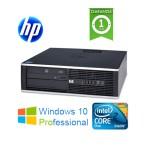 PC HP Compaq 8000 Elite Core 2 Duo E8400 3.0Ghz 4Gb Ram 320Gb DVDRW Windows 10 Professional