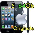 iPhone 5 64Gb Nero 4G MD662KN/A ME043J/A iOS 8 Originale iOS 10