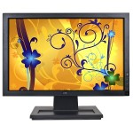 Monitor 17 Pollici LCD Dell E1709W 1440x900 Black Wide