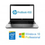 Notebook HP ProBook 450 G1 Core i7-4702MQ 2.2GHz 8Gb 750Gb 15.6' HD LED Windows 10 Professional