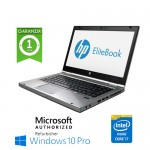 Notebook HP EliteBook 8470p Core i7-3520M 2.9GHz 8Gb 128Gb SSD 14.1' LED HD Windows 10 Professional