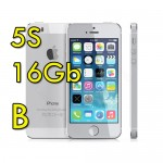 iPhone 5S 16Gb Argento A7 WiFi Bluetooth 4G Apple ME433IP/A ME333J/A Silver [GRADE B]