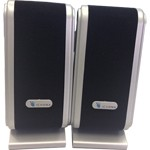 Casse Audio Altoparlanti per PC Multimedia Speaker USB 160W Black Silver