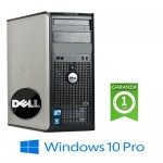 PC Dell Optiplex 760 Core 2 Duo E8400 3.0Ghz 4Gb Ram 160Gb DVD-RW PARALLELA Windows 10 Professional Tower