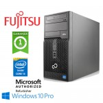 PC Fujitsu ESPRIMO P400 Core i3-2120 3.3GHz 4Gb Ram 500Gb DVD-RW Windows 10 Professional Tower
