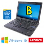 Notebook Lenovo Thinkpad X201 Core i5-520M 4Gb 250Gb 12.1' WXGA Windows 10 HOME [Grade B]