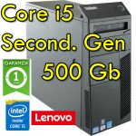 PC Lenovo ThinkCenter M91p Core i5-2400 3.1GHz 4Gb Ram 500Gb DVDRW Windows 10 Professional Tower 1Y