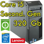 PC Lenovo ThinkCenter M91p Core i5-2400 3.1GHz 4Gb Ram 320Gb DVDRW Windows 10 Professional Tower 1Y