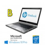 Notebook HP Elitebook 8460p Core i5-2520M 2.5GHz 4Gb 250Gb DVDRW 14.1' LED HD Windows 10 Pro [Grade B]