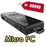 Micro PC stick Intel Z3735F 32Gb MicroSD USB Micro HDMI Windows 8.1 Bing NUOVO STCK1A32WFC