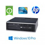 PC HP Compaq 8000 Elite Core 2 Duo E8400 3.0Ghz 4Gb Ram 250Gb DVD Windows 10 Professional