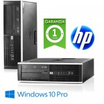 PC HP Compaq 8000 USDT Elite Core 2 Duo E8400 3.0GHz 4Gb Ram 250Gb DVDRW Windows 10 Professional 1Y