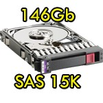 Hard Disk per Server HP SAS 2.5' 146Gb 15K Hot Swap per Proliant DL ML BL G5 G6 G7
