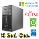 PC Fujitsu Esprimo P700 Core i3-2130 3.4GHz 4Gb Ram 500Gb DVDRW Windows 10 Professional Tower