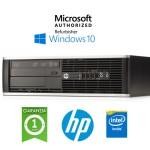PC HP Compaq 6200 Pro Intel G620 2.6GHz 4Gb Ram 250Gb DVDRW Windows 10 Professional