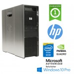 Workstation HP Z600 Xeon E5630 2.5GHz 16Gb Ram 1Tb DVDRW QUADRO 2000 Windows 10 Professional 1Y