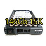 Hard Disk per Server Dell PowerEdge SAS 2.5' 146Gb 15K Hot Swap per R610 R710 R910 Altri