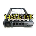Hard Disk per Server Dell PowerEdge SAS 2.5' 146Gb 15K Hot Swap per R610 R710 R910 Altri