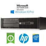 PC HP Compaq 6200 Pro Intel G630 2.7GHz 4Gb Ram 500Gb DVDRW Windows 10 Professional