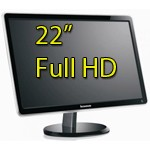 Monitor LCD 22 Pollici Lenovo ThinkVision LS2221w 1920x1080 Full HD