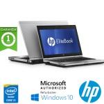 Notebook HP EliteBook 2560p Core i5 2540M 2.6GHz 4Gb 320Gb 12.5' HD WEBCAM DVD-RW Windows 10 HOME
