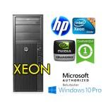 Workstation HP Z600 Xeon X5647 2.93GHz 12Gb Ram 450GB SAS DVDRW QUADRO 4000 2GB Windows 10 Professional