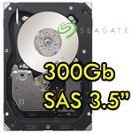 Hard disk Seagate Cheetah 300GB 3.5' SAS 300GB 15000 RPM 16MB Cache SAS 6Gb/s 1Y