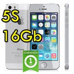 iPhone 5S 16Gb Argento A7 WiFi Bluetooth 4G Apple ME433IP/A ME333J/A Silver iOS 10
