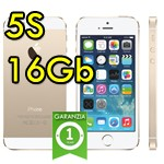 iPhone 5S 16Gb Oro A7 WiFi Bluetooth 4G MEME434IP/A ME334J/A Gold iOS 10